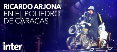 Imágenes Blog-Arjona en Caracas