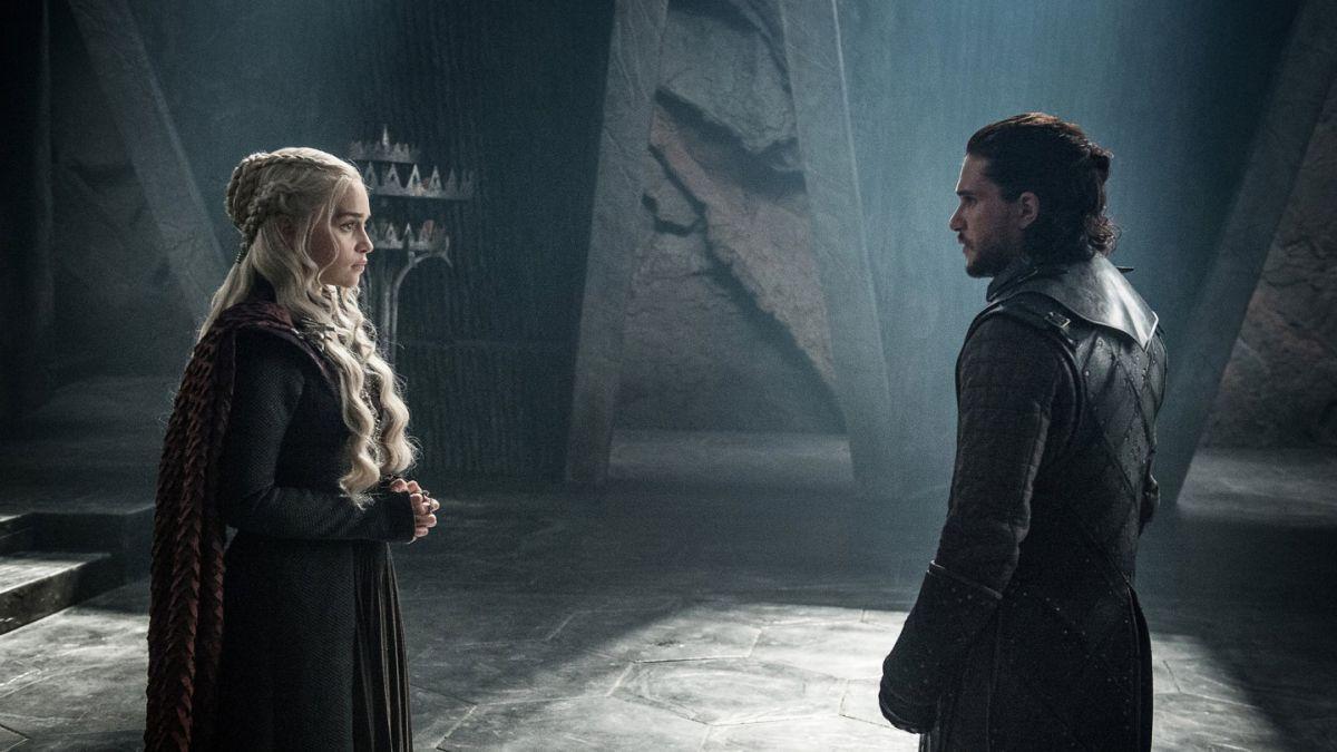 Jhon snow y Daenerys targaryan