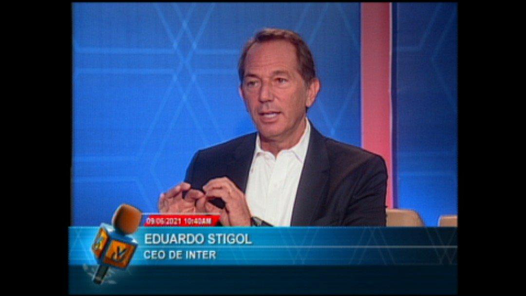 Eduardo Stigol, Presidente de Inter, en Entrevista Venevisión